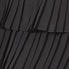 BLACK PLEATED